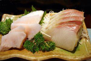 Sashimi de japuta